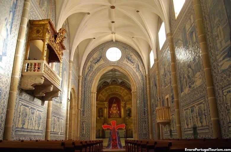 Igreja dos Lóios (or Igreja de São João Evangelista), Évora - Tourist Guide